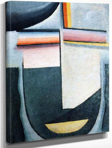 Abstract Head Twilight By Alexei Jawlensky By Alexei Jawlensky