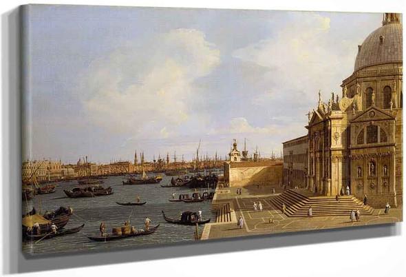 Venice, Santa Maria Della Salute By Canaletto By Canaletto