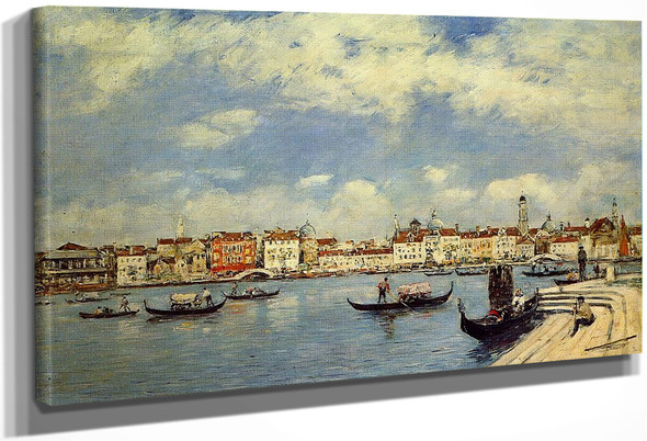 Venice, View From San Giorgio By Eugene Louis Boudin