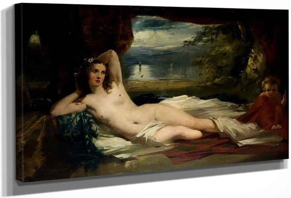 Venus And Cupid By Thomas Faed Ra Hrsa
