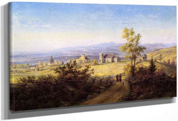 Vespers By Edward Lamson Henry By Edward Lamson Henry