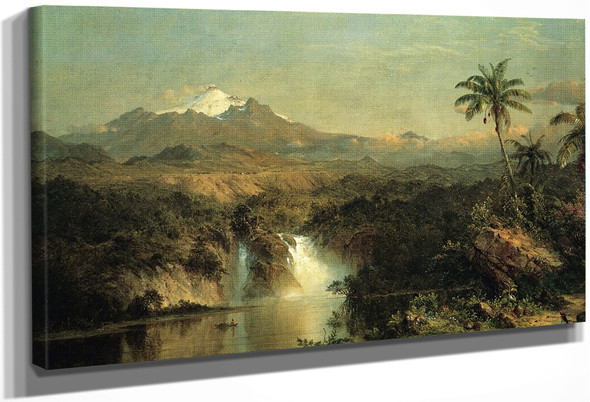 View Of Cotopaxi By Frederic Edwin Church By Frederic Edwin Church