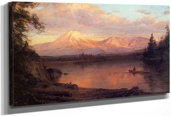 View Of Mount Katahdin By Frederic Edwin Church By Frederic Edwin Church