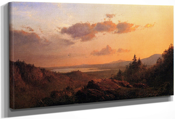 View Of The Hudson River From Olana By Frederic Edwin Church By Frederic Edwin Church