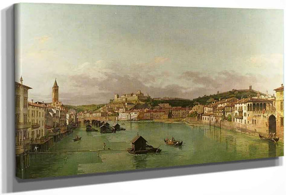 View Of Verona By William Marlow