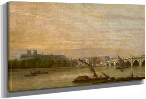 View Of Westminster By William Marlow