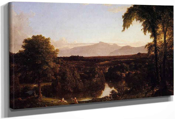 View On The Catskill, Early Autunm By Thomas Cole By Thomas Cole