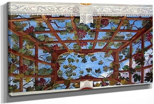 Villa Barbaro Vineyards By Paolo Veronese