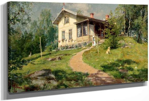 Villa Bjorkbacken By Johan Krouthen