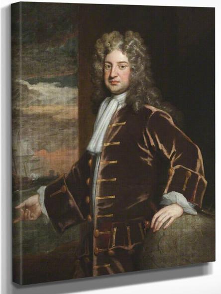 Admiral George Delaval By Sir Godfrey Kneller, Bt.  By Sir Godfrey Kneller, Bt.