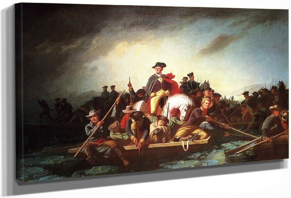 Washington Crossing The Deleware By George Caleb Bingham By George Caleb Bingham