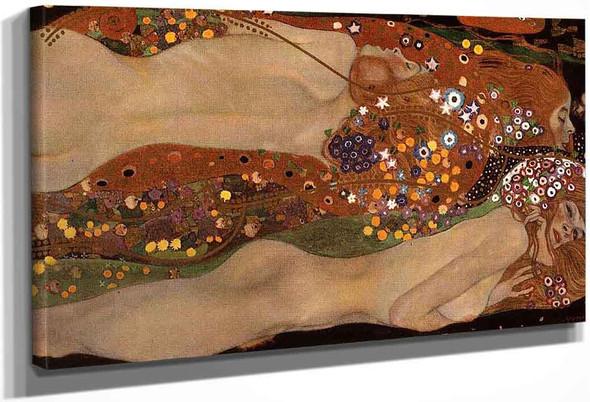 Water Snakes Ii By Gustav Klimt