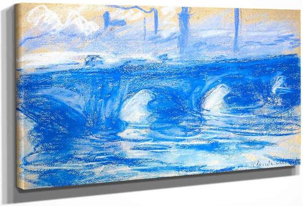 Waterloo Bridge1 By Claude Oscar Monet