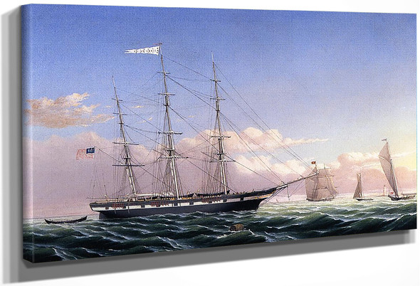Whaleship 'Jireh Swift' Of New Bedford By William Bradford By William Bradford