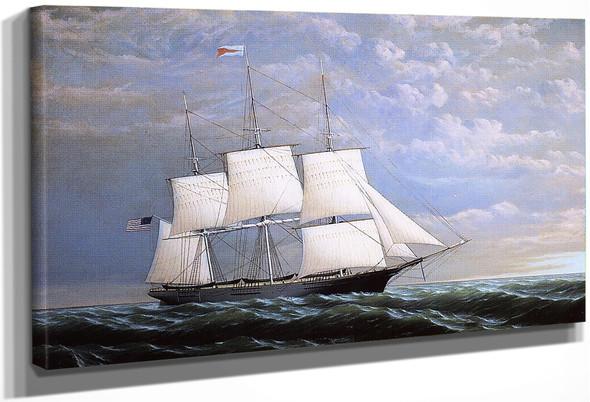 Whaleship 'Syren Queen' Of Fairhaven By William Bradford By William Bradford