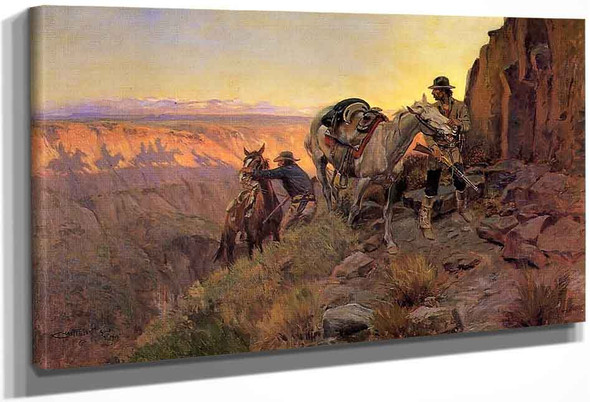 When Shadows Hint Death By Charles Marion Russell
