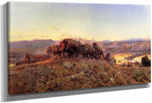 When The Land Belonged To God By Charles Marion Russell