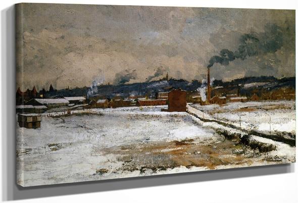 Winter, Mill Creek Valley, Cincinnati By John Twachtman