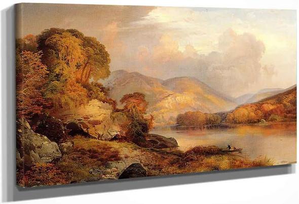Winter Landscape By Edwin Lord Weeks