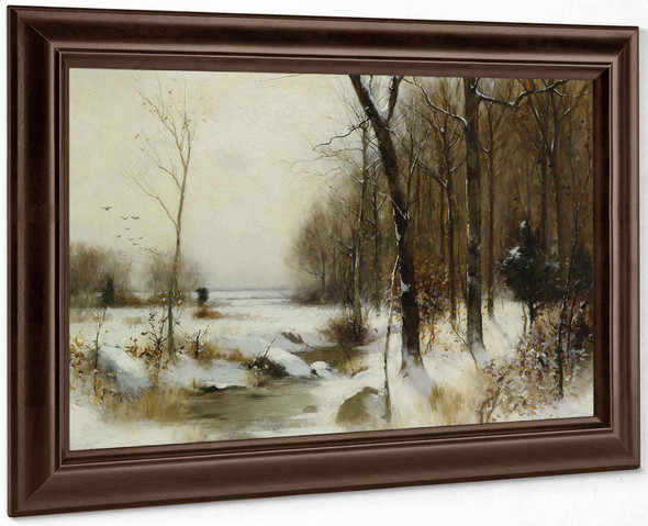 Winter Morning by Bruce Crane