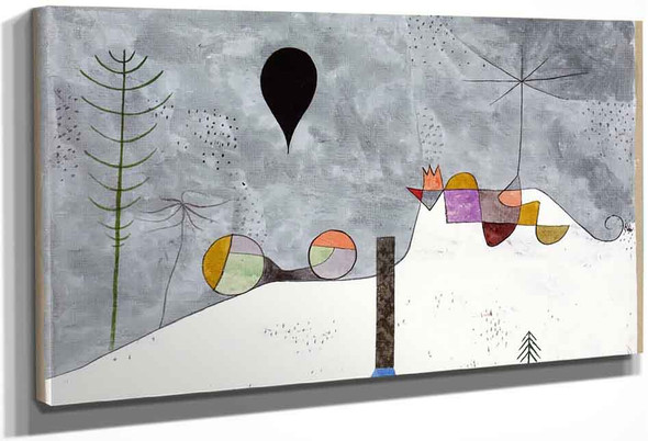 Winter Picture By Paul Klee
