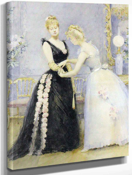 After The Ball By Madeleine Jeanne Lemaire