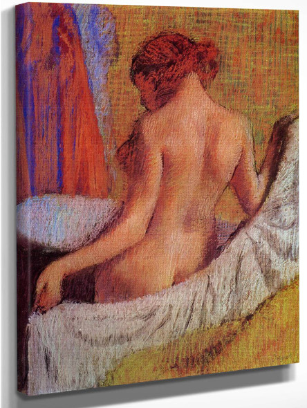 After The Bath3 By Edgar Degas