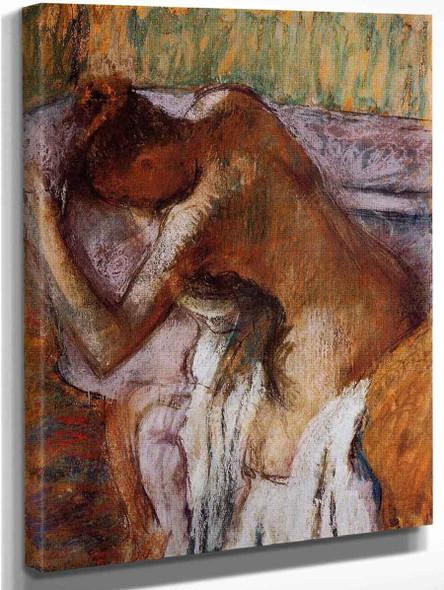 After The Bath6 By Edgar Degas