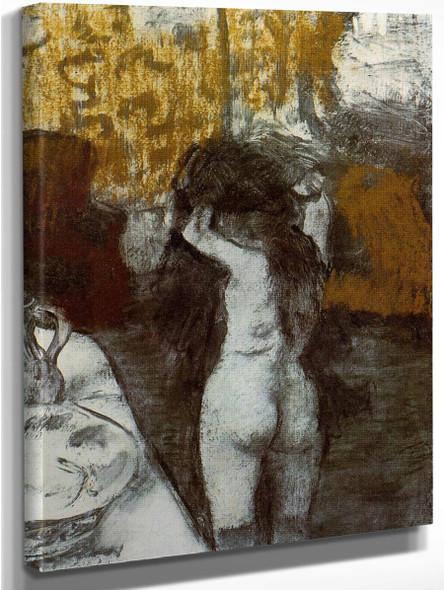 After The Bath7 By Edgar Degas