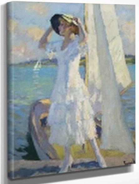 After The Crossing By Edward Cucuel By Edward Cucuel