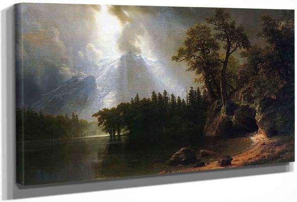 Yosemite By Albert Bierstadt