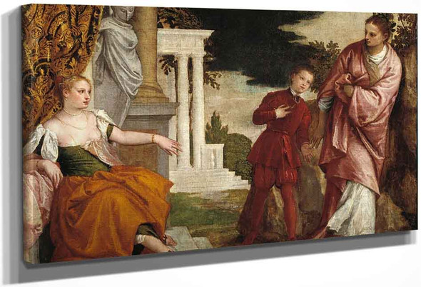 Young Man Between Virtue And Vice By Paolo Veronese
