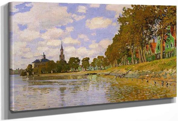Zaandam By Claude Oscar Monet