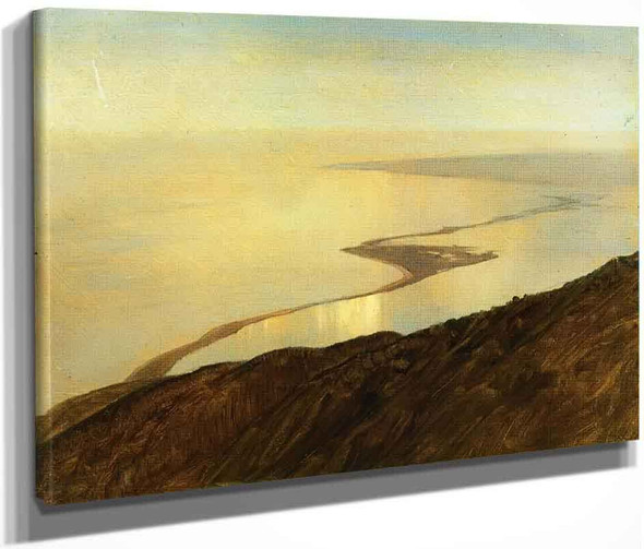 A Coast Line In Jamaica, West Indies By Frederic Edwin Church By Frederic Edwin Church