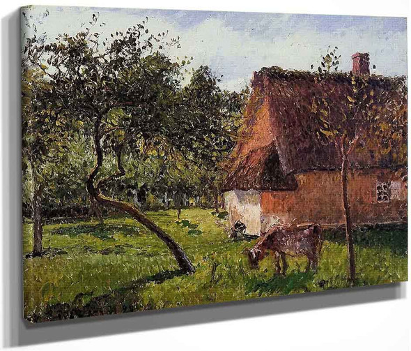 A Field In Varengeville By Camille Pissarro By Camille Pissarro