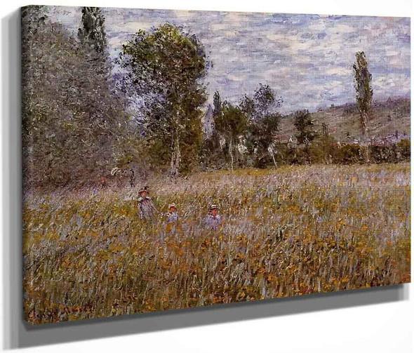A Meadow By Claude Oscar Monet