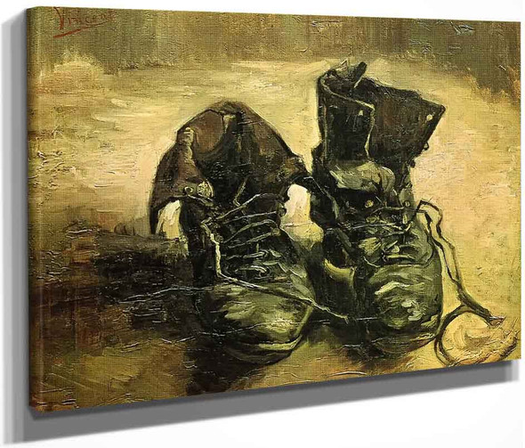 A Pair Of Shoes1 By Vincent Van Gogh