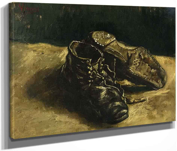 A Pair Of Shoes2 By Vincent Van Gogh