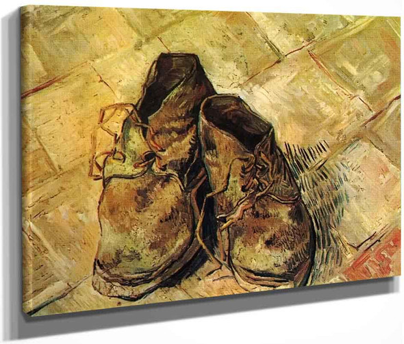 A Pair Of Shoes3 By Vincent Van Gogh