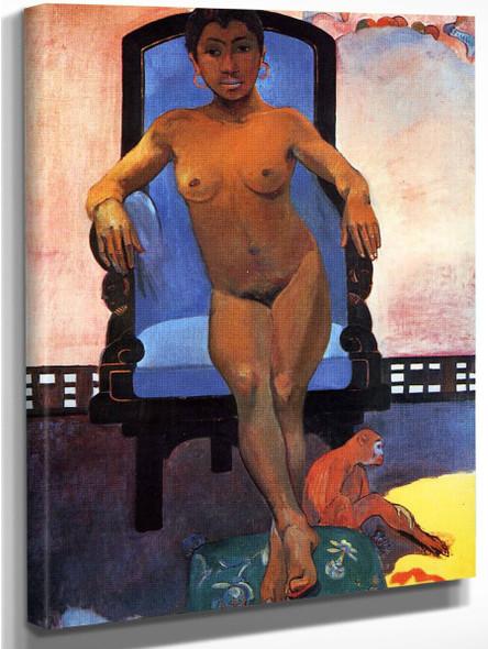 Aita Parari Te Tamari Vahine Judith  By Paul Gauguin