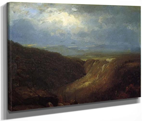 A Souvenir Of The Catskills By Sanford Robinson Gifford  By Sanford Robinson Gifford