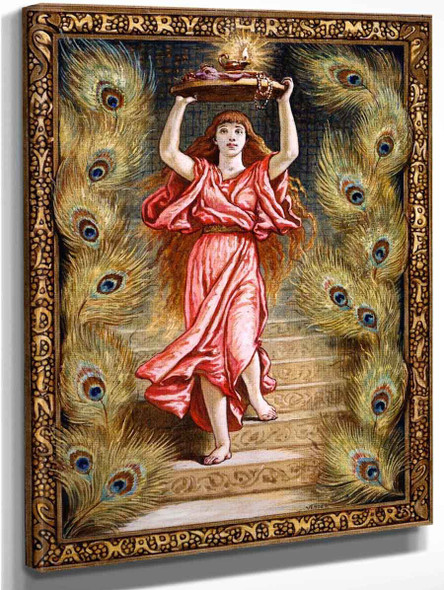 Aladdin's Lamp By Elihu Vedder Art Reproduction