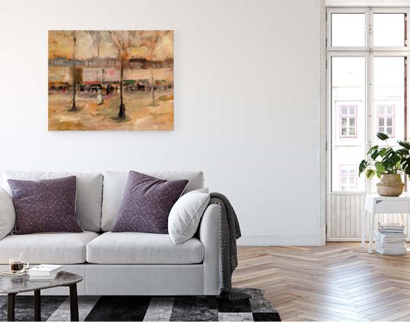 A View Of Paris By Robert Henri