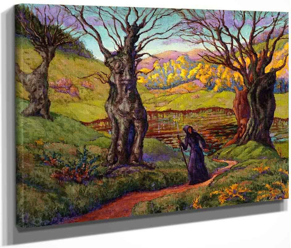 A Witch In The Swamp By Paul Ranson