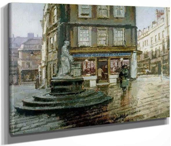 Abbey Yard, Bath By Walter Richard Sickert By Walter Richard Sickert