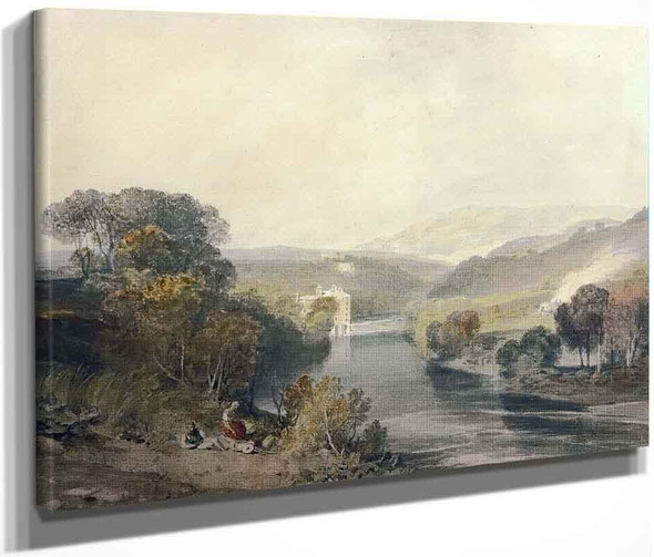 Addingham Mill On The River Wharfe, Yorkshire By Joseph Mallord William Turner