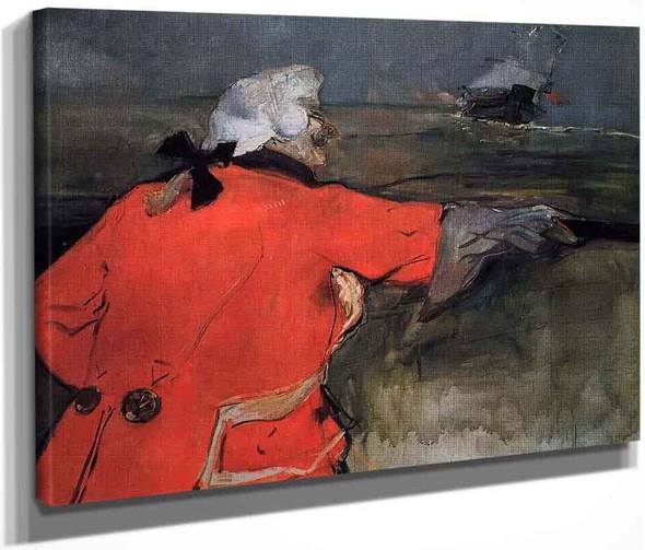 Admiral Viaud By Henri De Toulouse Lautrec