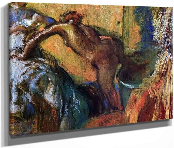 After The Bath10 By Edgar Degas By Edgar Degas