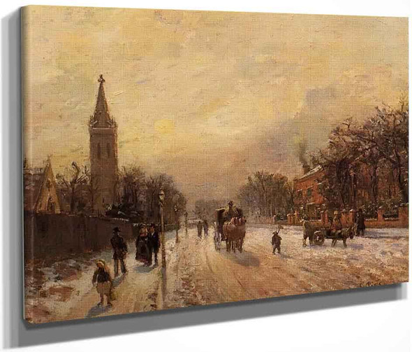 All Saints' Church, Upper Norwood By Camille Pissarro By Camille Pissarro