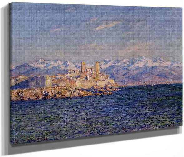 Antibes, Afternoon Effect By Claude Oscar Monet